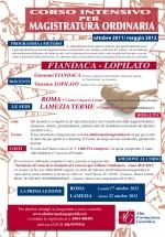 Corsi di Magistratura 2011-12  – Lamezia