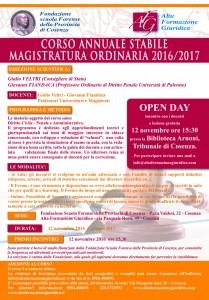 VII EDIZIONE CORSO INTENSIVO MAGISTRATURA ORDINARIA 2016/2017