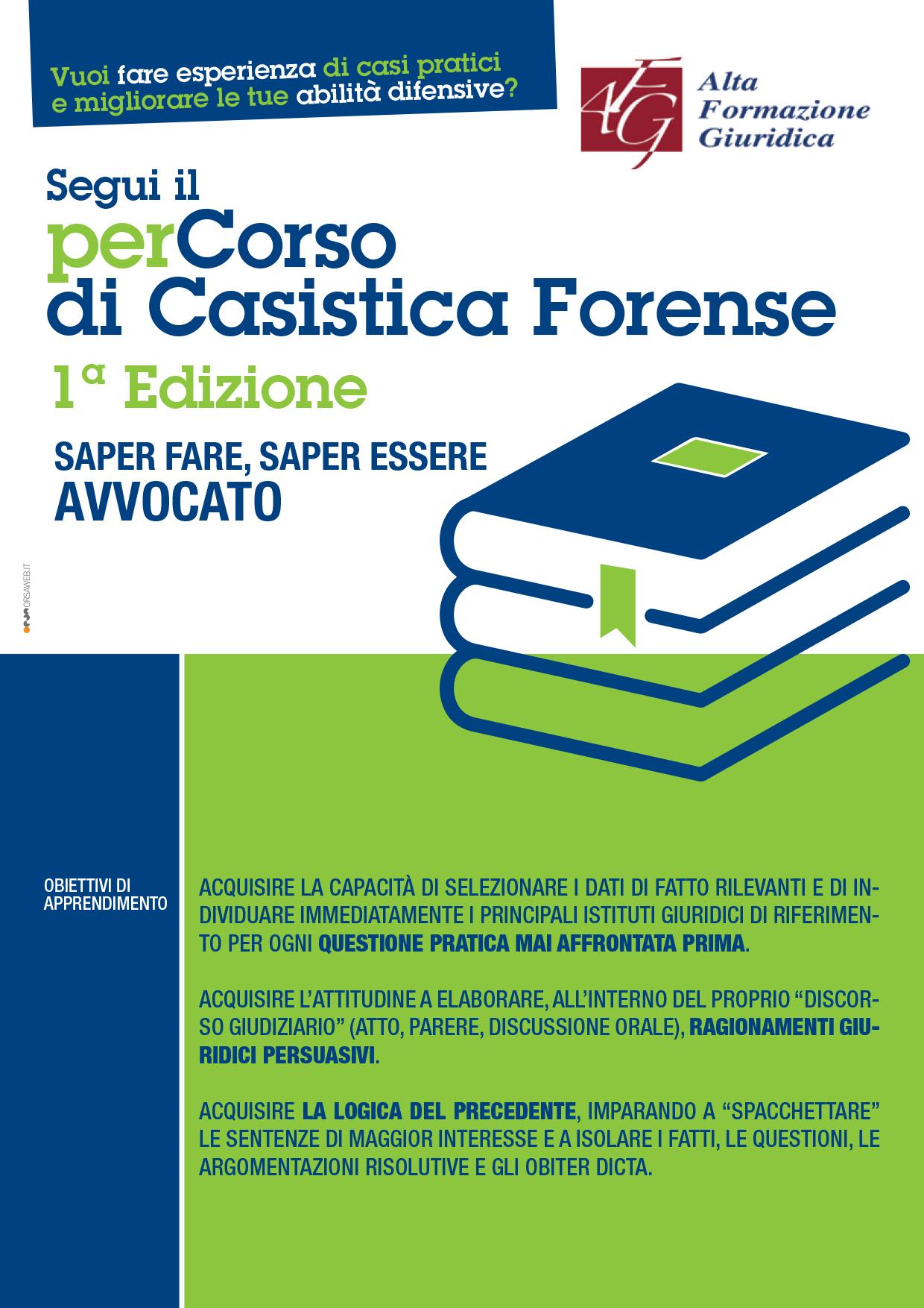 PERCORSO CASISTICA FORENSE 2018 -